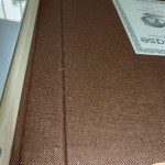 Pilling appeared on the inside cover near the spine after one day.